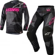 2018 Alpinestars Racer Kit Combo - Tactical Black Flo Pink