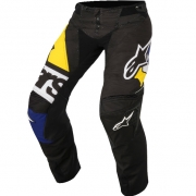 2018 Alpinestars Techstar Pants - Factory Black Blue Yellow