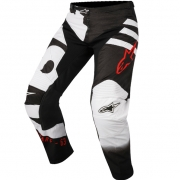 2018 Alpinestars Racer Pants - Braap Black White Red