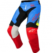 2018 Alpinestars Racer Pants - Supermatic Aqua Black Red