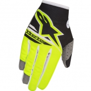 2018 Alpinestars Kids Radar Flight Gloves - Black Flo Yellow