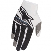 2018 Alpinestars Kids Radar Flight Gloves - White Black
