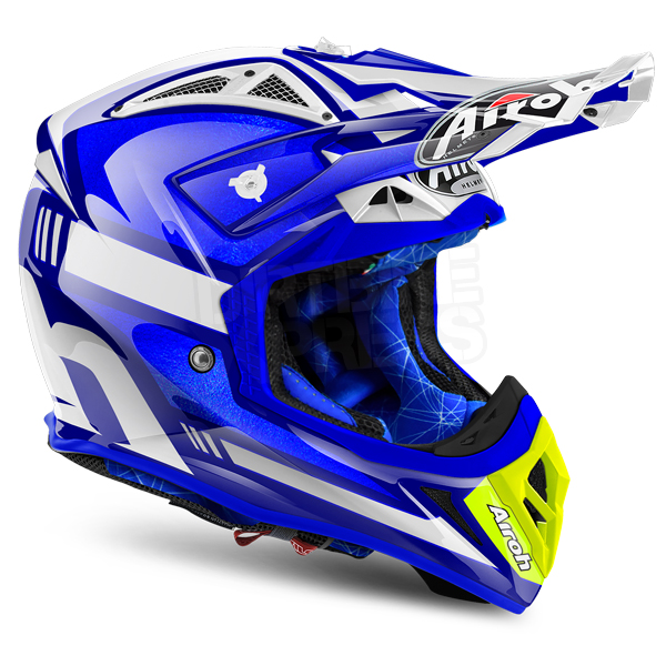 2018 airoh aviator 2 2 helmet cairoli ottobiano blue dirtbikexpress. Black Bedroom Furniture Sets. Home Design Ideas
