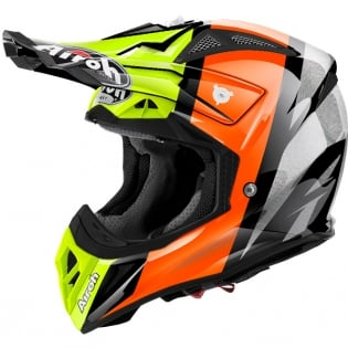 2018 Airoh Aviator 2.2 Helmet Revolve Orange