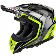 2018 Airoh Aviator 2.2 Helmet Warning Yellow