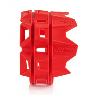 Acerbis Silicone Silencer Protector - Red