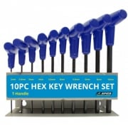 Apico T-Handle Tool Wrench Set - 10 Piece 2mm-10mm