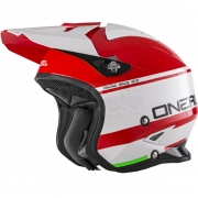 ONeal Slat Trials Helmet - Crimson Red White