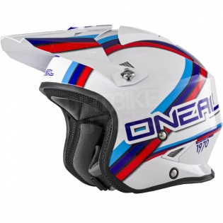 ONeal Slat Trials Helmet - Circuit White