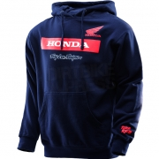 Troy Lee Designs Honda Wing Block Pull Over Hoodie - Navy