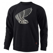 Troy Lee Designs Honda Wing Crew Sweatshirt - Black