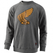Troy Lee Designs Honda Wing Crew Sweatshirt - Charcoal