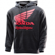 Troy Lee Designs Honda Wing Pull Over Hoodie - Charcoal