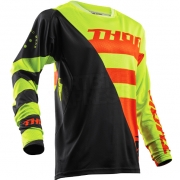 2018 Thor Fuse Air Jersey - Rive Lime Orange