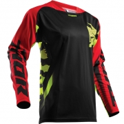 2018 Thor Fuse Jersey - Rampant Lime Red