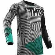 2018 Thor Pulse Jersey - Geotec Black Teal