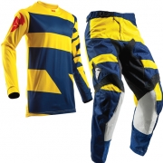 2018 Thor Kids Pulse Kit Combo - Level Navy Yellow