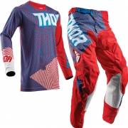 2018 Thor Kids Pulse Kit Combo - Geotec Red Blue