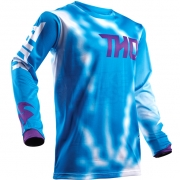2018 Thor Kids Pulse Air Jersey - Radiate Blue