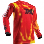 2018 Thor Kids Pulse Air Jersey - Radiate Red