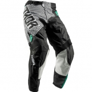 2018 Thor Kids Pulse Pants - Geotec Black Teal
