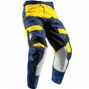 2018 Thor Kids Pulse Pants - Level Navy Yellow