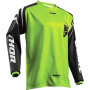 2018 Thor Kids Sector Jersey - Zones Lime