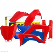 Acerbis Plastic Kit - Honda CRF - Red Blue Patriot