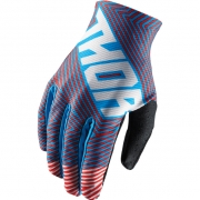 2018 Thor Void Gloves - Geotec Blue Red