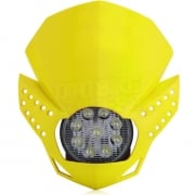 Acerbis Fulmine LED Headlight - Yellow