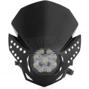 Acerbis Fulmine LED Headlight - Black