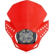 Acerbis Fulmine LED Headlight - Red