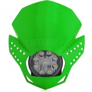 Acerbis Fulmine LED Headlight - Green