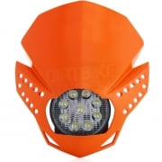 Acerbis Fulmine LED Headlight - Orange