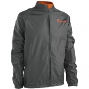 2018 Thor Waterproof Pack Jacket - Charcoal Orange