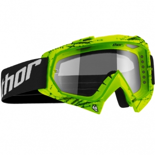 Thor Enemy Kids Goggles - Splatter Green