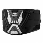 2018 Thor Force Body Kidney Belt - Black White