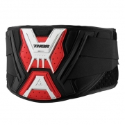 2018 Thor Force Body Kidney Belt - Black Red