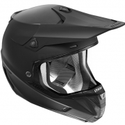 2018 Thor Verge Helmet - Plain Matt Black