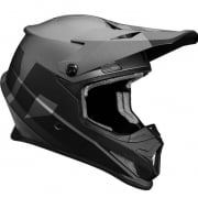 2018 Thor Sector Helmet - Level Black Charcoal