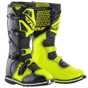 2018 Fly Racing Maverik MX Boots - Black Hi Viz