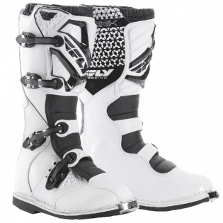 2018 Fly Racing Maverik MX Boots - White
