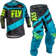 2018 Fly Racing F16 Kit Combo - Blue Black