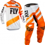 2018 Fly Racing F16 Kit Combo - Orange White