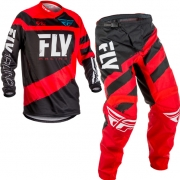 2018 Fly Racing F16 Kids Kit Combo - Red Black