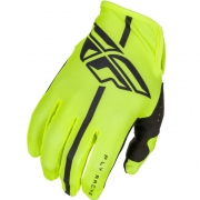 2018 Fly Racing Lite Gloves - Hi Viz Black