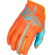 2018 Fly Racing Lite Gloves - Orange Blue