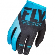 2018 Fly Racing Kinetic Gloves - Blue Black