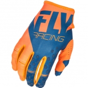 2018 Fly Racing Kinetic Gloves - Orange Navy
