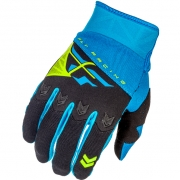 2018 Fly Racing F16 Gloves - Blue Black